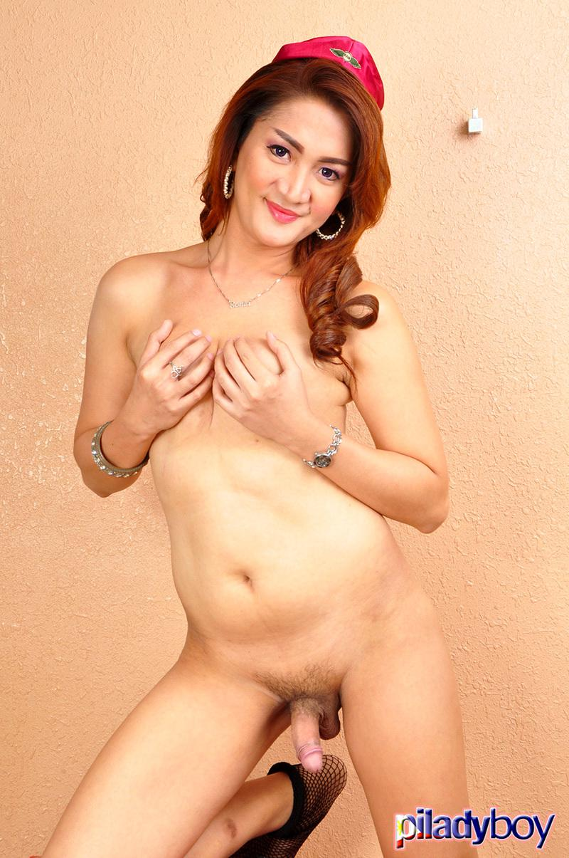 Asian Tgirl Getting Cock Sucked