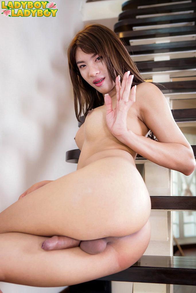 Ladyboy ass pic #2