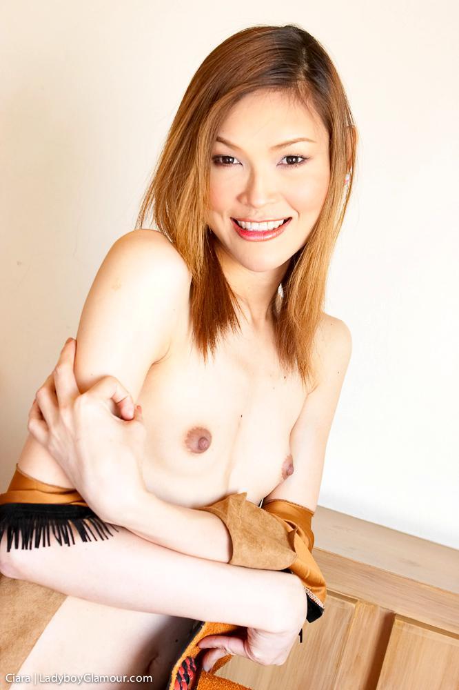 Cute Femboy Exposing Her Tits