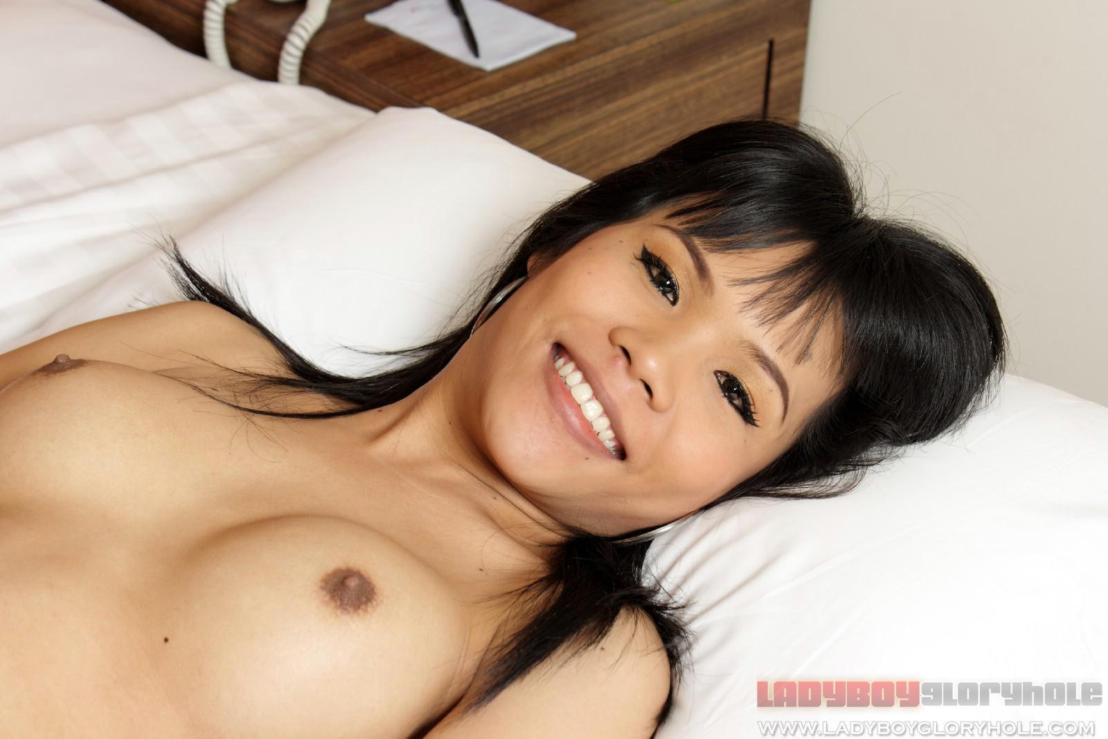 Cute Teen T-Girl In Bikini Exposing Her Nice Asian Penis
