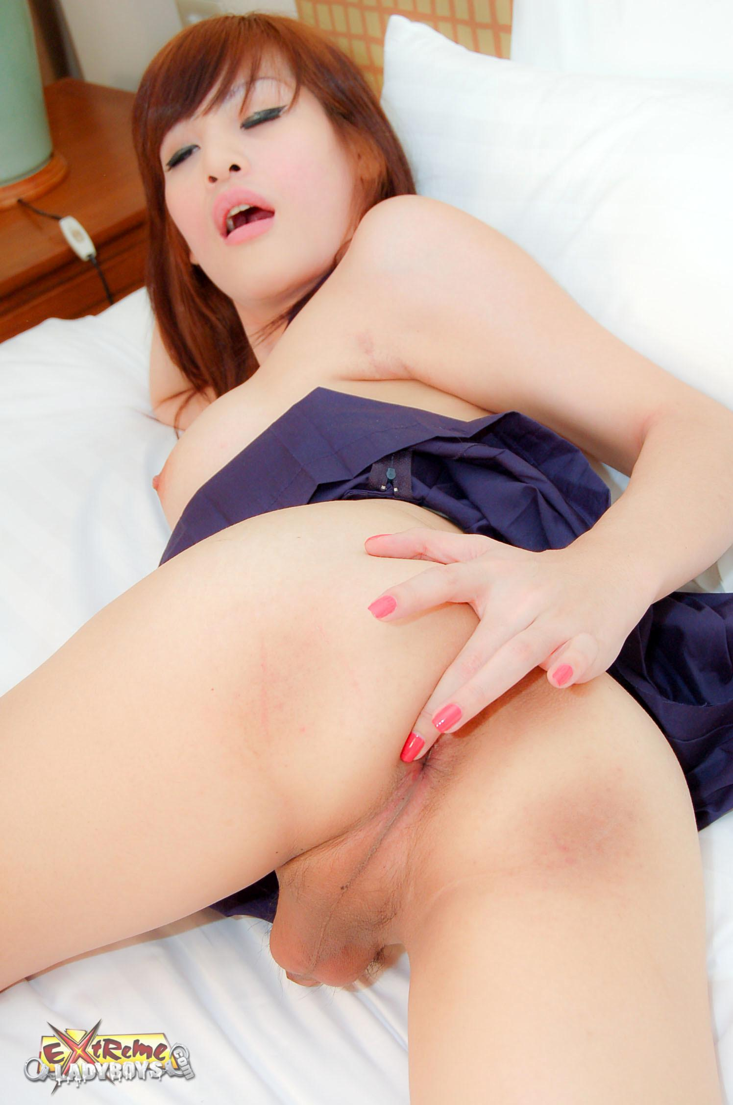Dominant TS With Enormous Boobs Spills Spunk In Mouth