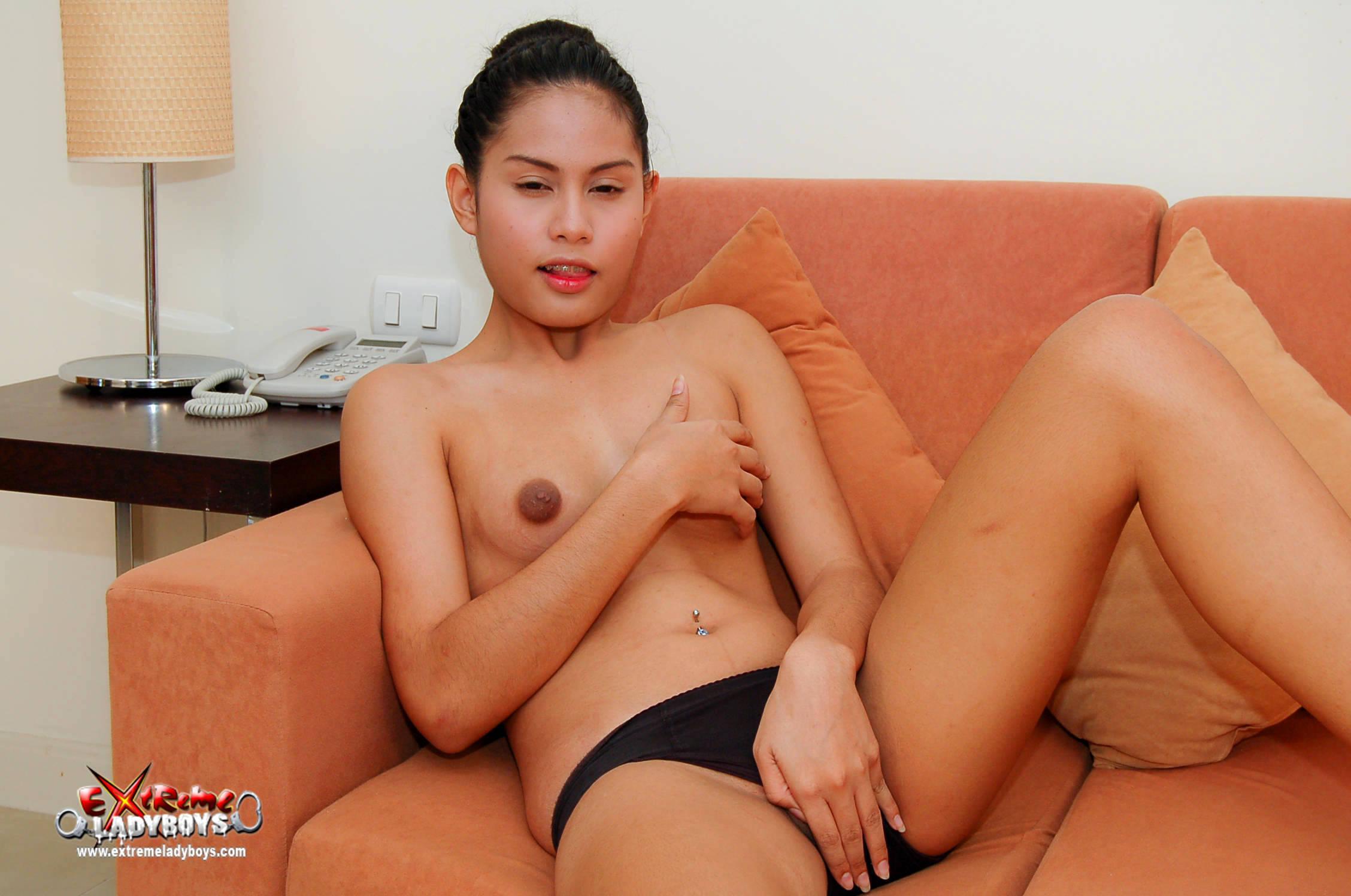 Hot Pierced T-Girl