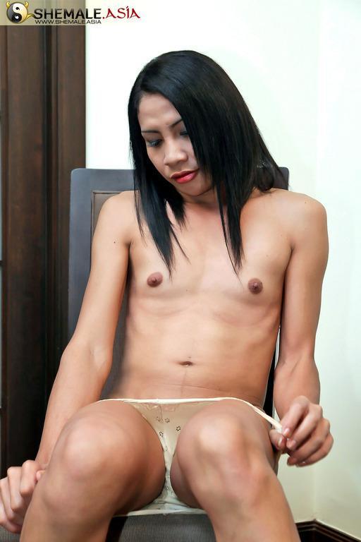 Hot Shemale Dildoing
