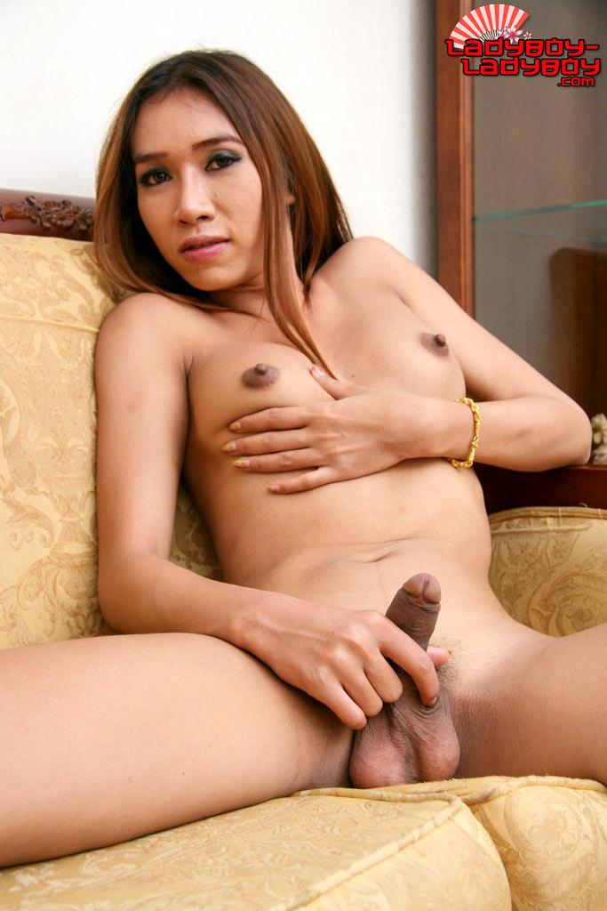 Nasty Asian Shemale Posing