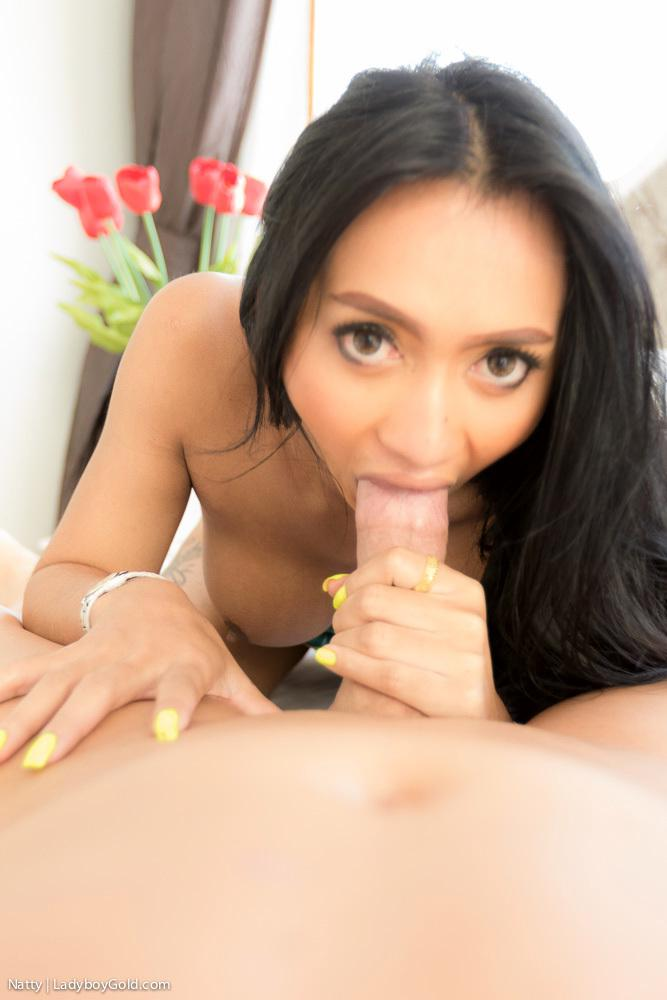 Naughty Thai T-Girl Nurse Takes Her Temperature Anally