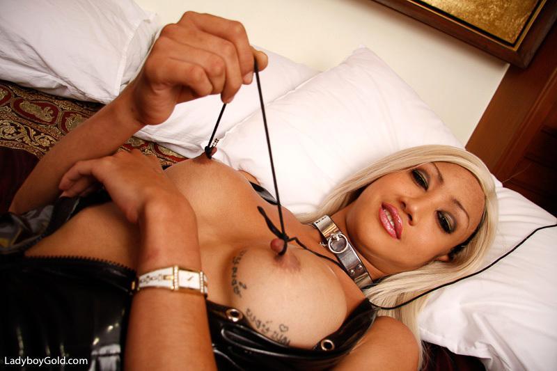 Nice Tits Ladyboy Gets Her Bum Banged Hard