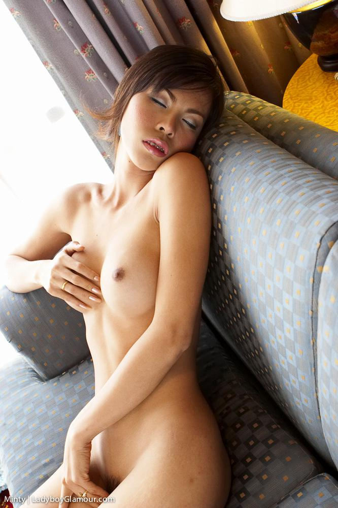 Pretty Ladyboy Dressed Up And Begs For Huge White Penis