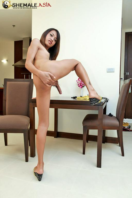 Seductive Femboy Gets Her Tight Ass-Hole Nailed
