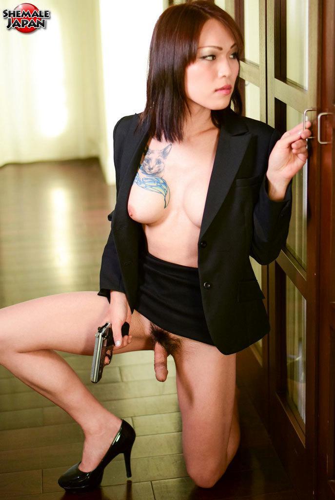 Sensuous Transexual Round Butt