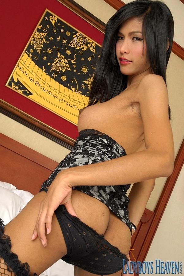 Stunning Tgirl Girl In Steamy Lingerie