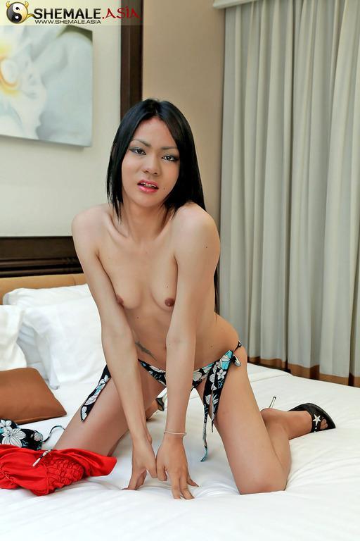 T-Girl Hottie Loves To Feel Penis In Her Ass