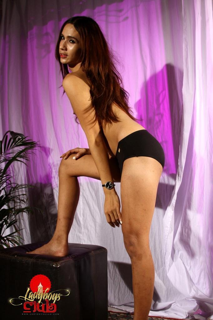 Teen Thai T-Girl Wanks And Shoots Hot Cum Everywhere