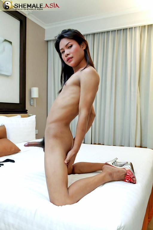 Tiny Transexual Dildos Her Asian Teen Asshole